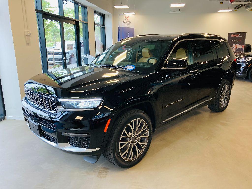 2021 Jeep Grand Cherokee L Summit reserve 5,7L Hemi AWD